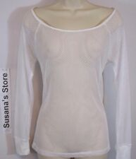 nwt BEBE MESH LAYERING TOP SIZE L Feisty layering top flaunting it all in oversi
