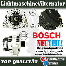 MERCEDES - BENZ C LICHTMASCHINE ALTERNATOR ORIGINAL BOSCH 120A NEW NEU !