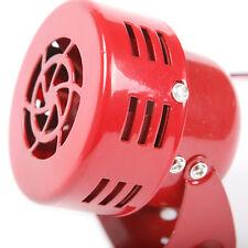 Car Truck Driven Air Raid Siren Horn Alarm Loud Sound Fire Security Rescue 12V