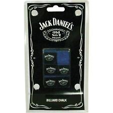 Jack Daniels Pool Cue Billiard Chalk 6 Pieces