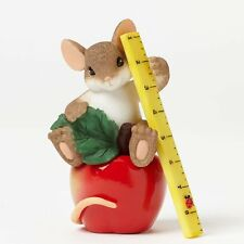 Charming Tails Collectible 2014 Figurine You Really Help Me Learn My Lesson NIB