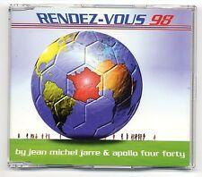 Jean Michel Jarre Maxi-CD Rendez-Vous 98 - 3-track CD - EPC 665625 2  Apollo 440