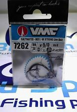 VMC Hook 7262 - Live Bait 4X Strong Big Game, Live Bait and Baitholder SIZE: 5/0