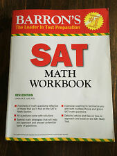 Barron's SAT Math Workbook, 5th Edition by Lawrence Leff M.S. (2012,...#5003