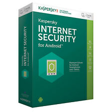 KASPERSKY INTERNET SECURITY for Android 1 GERÄTE/DEVICES 1Jahr Mobile & Tablets