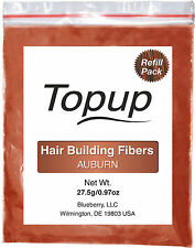 Topup Hair Building Fiber refill bag for Toppik Nanogen Xfusion