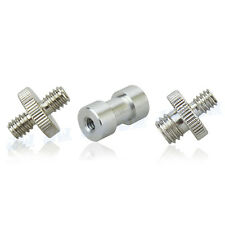 "JJC Screw Adapter Kit Double Male 1/4"" to 1/4"" 1/4""to 3/8"" Female 1/4"" to 3/8"""