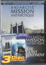 Antarctic Mission / The Last Continent (DVD 3-Disc Set) NEW sealed