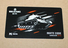 Gamescom 2016 Wargaming World of Tanks Roll Out PC Invite Code
