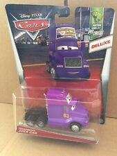 DISNEY CARS DIECAST - Transberry Juice Cab - Deluxe - New 2017 Release