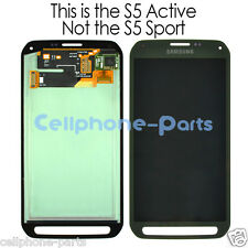 Samsung Galaxy S5 Active G870 G870A LCD Screen Display + Digitizer Touch Green