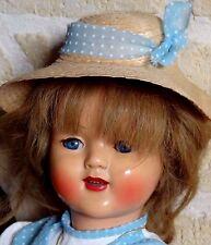 """Rare ancienne poupée """"Florence"""" RAYNAL toute d'origine année 1948"""