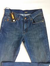 BNWT Men Blue Zilli Jeans Made in France Size 32 PRP 875$