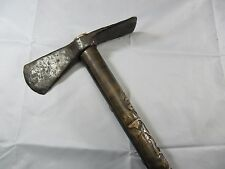 Ancient Viking Battle Axe Hatchet Dolabra 7 - 8 Century Hand Carved Handle
