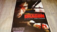LE BAISER MORTEL DU DRAGON ! affiche cinema