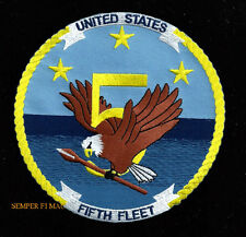 US NAVY 5TH FLEET PATCH USS CARRIER CV CVA CVN CVS SS SSAG SSBN SSG SSGN SSN SUB