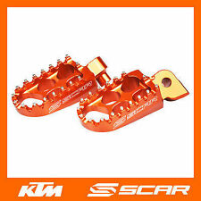 REPOSE CALE PIED STD KTM 85SX 85 SX 1998-2016 ORANGE SCAR