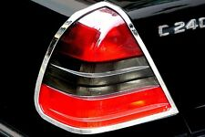 Mercedes w202 CHROME Taillight Frame Rings C-class tail lamp trim