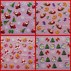 CHRISTMAS 3D NAIL DESIGNS /ART/STICKERS 23 DESIGNS IDEAL XMAS GIFTS UK SELLER