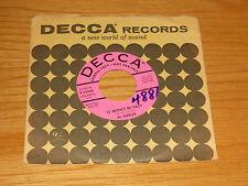 LOT of 3 PROMO POP 45  RPM - AL HIBBLER - DECCA 30176 30483 and 30946 -