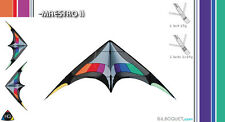 MAESTRO II FREESTYLE STUNT KITE  HQ NEW INTERMEDIATE ADVANCED LEVEL SPORTKITE