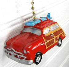 Surf Woody Wagon Ceiling Fan or Light Pull Wildlife Home Decor