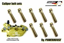 Ducati 916 inc S SP SPS Stainless joint bolt set Brembo front brake calipers