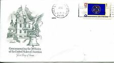 1976 STATE FLAGS UTAH ARTMASTER CACHET UNADDRESSED FDC
