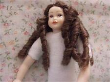 Dollhouse Teen Girl Doll Undressed Heidi Ott HOXKK14 Banana Curls Brwn Eyes 1-12