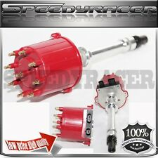 Ignition Distributor RED Cap fit Chevy GM 350 5.7 Efi Tbi Tpi Vortec 5.0L 5.7L
