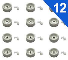 (12 pack) WD12X271 DISHWASHER RACK ROLLER sets