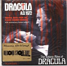 "Mike Vickers/John Cacavas ‎-DRACULA A.D. 1972- Record Store Day 7"" Single Hammer"