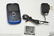 Samsung SGH A187 Blue (AT&T) Cellular Phone No-Contract Mobile