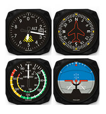 Trintec Classic 4-Piece Instrument Aviation Coaster Set - 9075