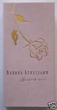 BARBRA STREISAND: Just for the Record, 4-CD Collector's Box Set w/ 92-Page Book