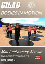 Gilad Bodies In Motion: 30th Anniversary Shows 4 DVD
