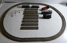 VTG TRAIN SET MARKLIN UNTESTED HO 4 WAGONS + ENGINE + RAILS