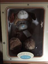 L@@K - BOXED ANIMAL ME TO YOU TATTY TEDDY BEAR LIMITED EDITION - DOG