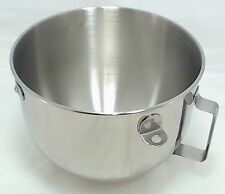 KitchenAid Mixer 5 QT S.S. Bowl w/handle KN25PBH, AP3968485, PS983953, W10716820