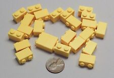Lego Parts Lot of 24 Yellow 3004 Bricks 1x2 Basic Building Bricks Item #103