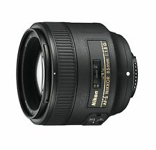 Nikon Nikkor AF-S 85mm f/1.8 G Prime Lens (Black) 2201 New Import