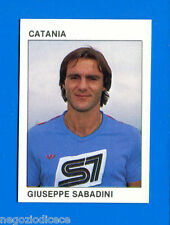 CALCIO FLASH '84 Lampo - Figurina-Sticker n. 41 - SABADINI - CATANIA -New