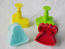 NEW 4 PLUNGER CUTTERS BISCUIT COOKIE FONDANT PASTRY MASON CASH FASHION .946