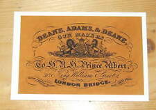 Deane Adams & Deane Gunmakers SHOTGUN CASE LABEL (repo) Accessories