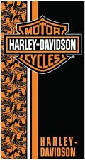 Harley Davidson Flowers Velour Beach/Bath Towel FULLY LICENSED!!!! (30x60)
