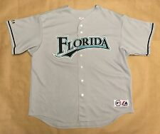 Vintage MLB Florida Marlins 90s Men's Majestic Baseball Jersey XXL Sewn
