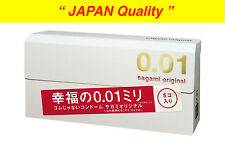 "Sagami Original 001 Ultra Thin 0.01mm Condom 5pcs from ""JAPAN Quality"" Free Ship"