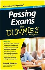 Passing Exams for Dummies by Patrick Sherratt (2013, Paperback)