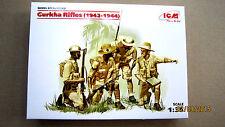 Gurkha Rifles 1942-1944  (4 figures)       1/35  ICM #   35563