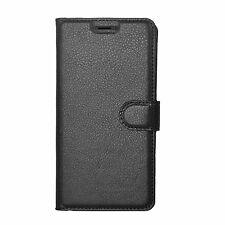Luxury Magnetic Flip Cover Stand Wallet Leather Case For Motorola G5 - BLK